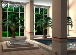 Вентиляция бассейна загородного дома