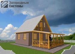 Проект строительства дачного дома
