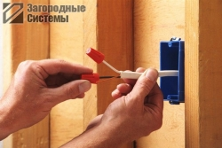 Замена электрики в загородном доме