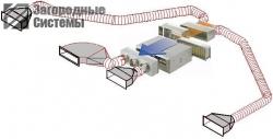 Особенности канальной системы вентиляции и кондиционирования коттеджа